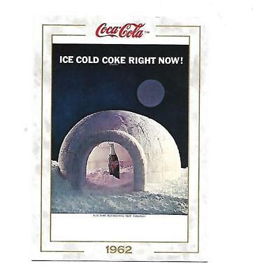 Coca Cola Collection (1993) 1962 # 72 Ice Cold Coke Igloo in the Arctic Night