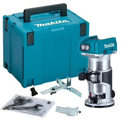 Makita Drt50Zj 18V Lxt Cordless Laminate Trimmer Body With Accessories +Makpac