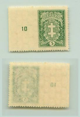 Lithuania 1929 SC 234 MNH missing perforation . f2658