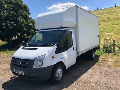 Ford Transit Luton Long Wheel Base With Tail-Lift ** No Reserve ** No Vat **
