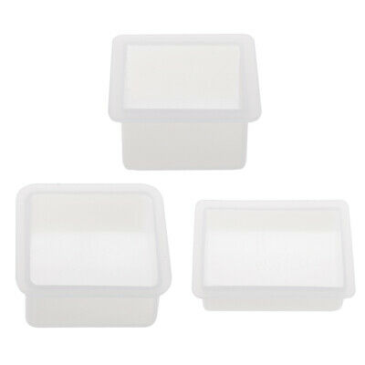 Silicone Cube Cuboid Block Mould Epoxy Resin Casting Candle Soap Clay Mold
