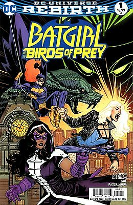 Batgirl and The Birds of Prey Comic 1 DC 2016 Rebirth Benson Roe Passalaqua