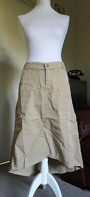 Crave - A Lovely Wholemeal Maternity Skirt - Size 8 -New !