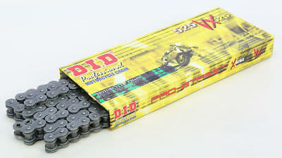 DID 525 VX Pro-Street X-Ring Chain 120 Links Natural #525VXX120ZB