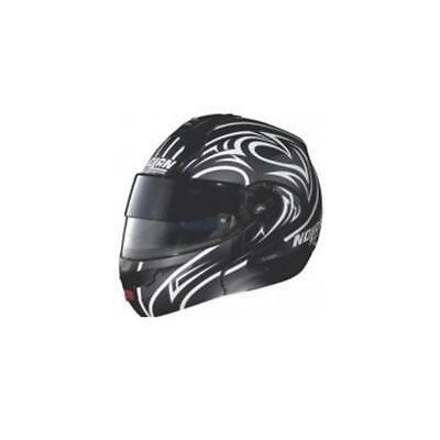 2d7161bf Nolan N102 Secret Flip Up Modular Motorcycle Helmet Flat Black XSmall XS
