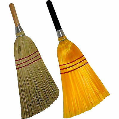 Performance Plus ABCO Green Blended Lobby Brooms- 12-Pack