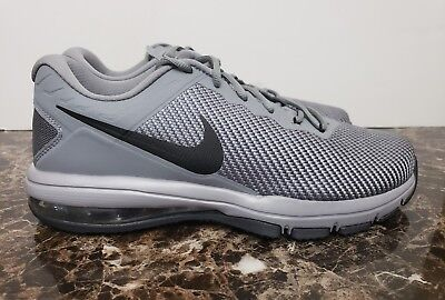 be95d4a3925 NIKE Mens Max Air Full Ride TR 1.5 Grey Black Stealth Anthracite Size 10.5