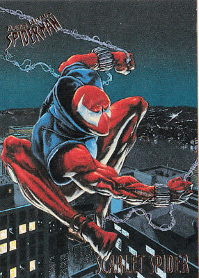 1995 Fleer Ultra Spider-Man #48 Scarlet Spider #70800-8
