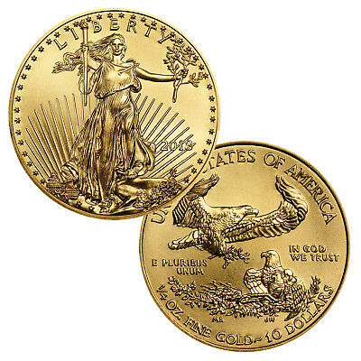 2018 $10 1/4 Ounce Gold American Eagle BU