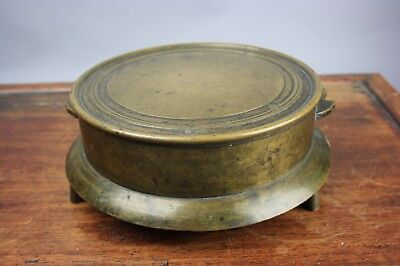 18th/19th C. Marked Japanese Bronze Gong/SHOGO