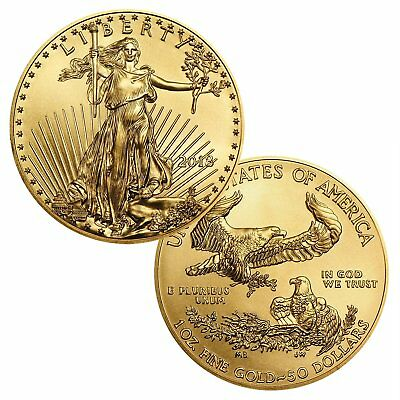2018 $50 1 Ounce Gold American Eagle BU