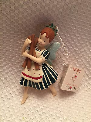 Midwest Kitchen Blessings Resin Christmas Ornament Angel  Cinnamon Rare Baking