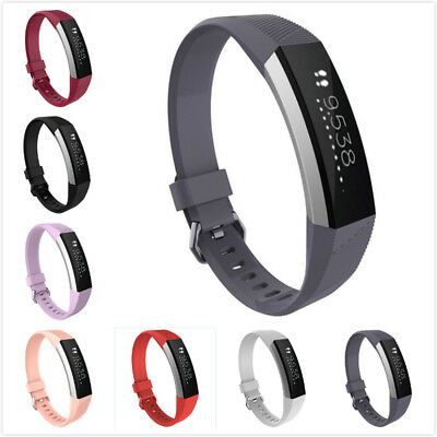 Replacement Silicone Wristband Wrist Band Strap Bracelet Fit For Fitbit Alta HR