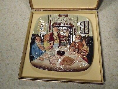Royal Doulton Beswick Christmas Around The World Plate Christmas In England