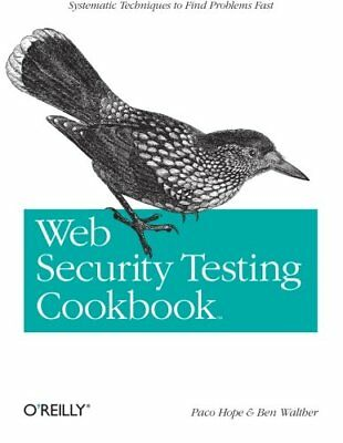 Web Security Testing Cookbook by Ben Walther Paperback Book The Cheap Fast Free