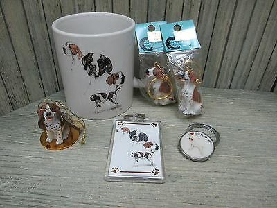 Pointer - Mug, Key Chains, Angel Dog Ornament