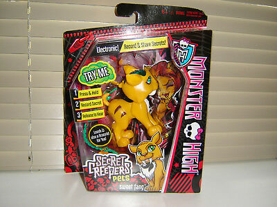 Monster High Secret Creepers Pets - Sweet Fang - New And Sealed