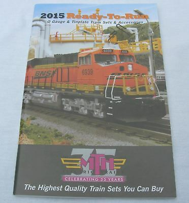 Mth  2015 Train Catalog Sets & Accessories Loaded Bnsf New