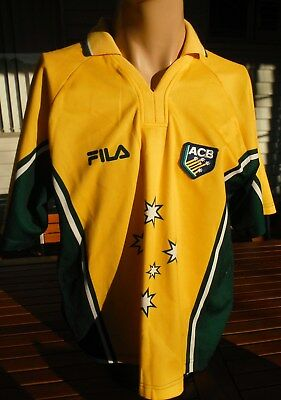 Vintage Australia One Day Cricket Shirt Made In Australia Size M