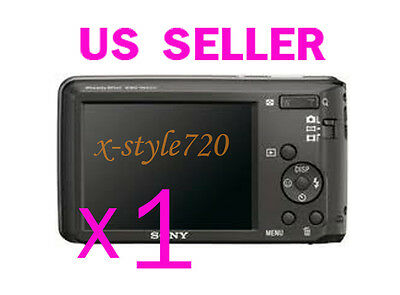 1x Sony CyberShot W520 Clear LCD Screen Protector Guard Cover Film