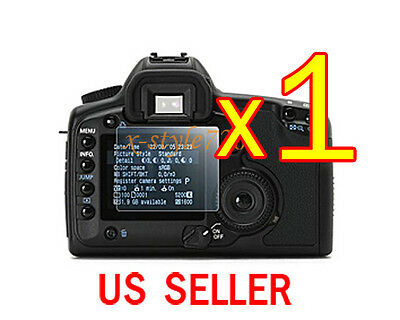 1x Clear LCD Screen Protector Guard Shield Film Canon EOS 40D 50D 5D Mark II