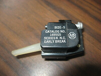 Allen Bradley 1495-G5 Auxiliary Contact