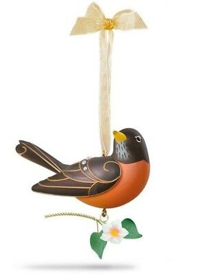 Hallmark 2018 Robin Beauty of Birds Series Ornament