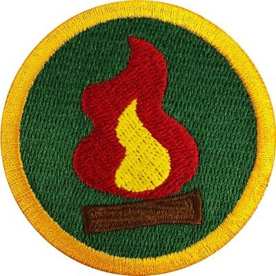 COOKING SCOUTS WILDERNESS Explorer Merit Badge Embroidered Iron on Patch
