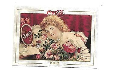 Coca Cola Collection (1993) 1900 # 8 Hilda Clark Poster Picture Card