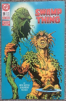 Swamp Thing #66 DC Comics 1987 Rick Veitch Alfredo Alcala