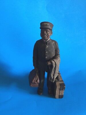 "Sarah's Attic ""porter (Clarence)""  Resin Figurine-Limited Edition From 1992"