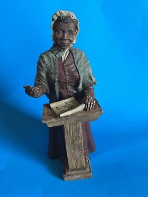 "Sarah's Attic ""sojourner Truth""  Resin Figurine-Limited Edition From 1992"