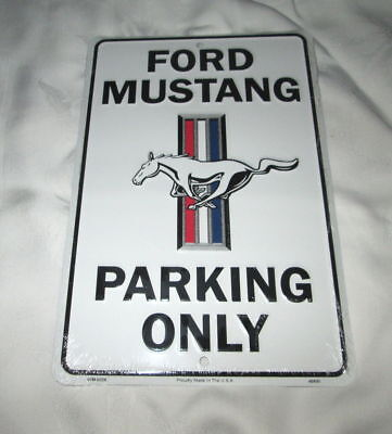 **FORD MUSTANG PARKING ONLY Metal Sign #3w - NEW**