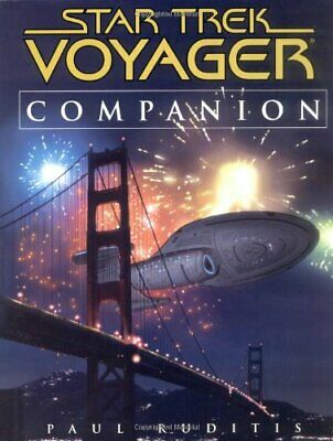 """Voyager"" Companion (Star Trek: Voyager) by Ruditis, Paul Paperback Book The"