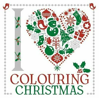 I Heart Colouring Christmas by Various Book The Cheap Fast Free Post