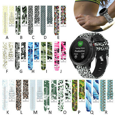 Fashion Replacement Silicagel Quick Install Watch Band Strap For Garmin Fenix 5