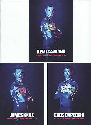 Cyclisme Cartes Postales Quick Step 2018