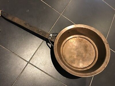 Old And Rustic Copper Pan