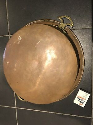 Old And Rustic Copper Pan No 2