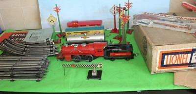 Lionel Junior Train Set Pre-War Boxed With Track & Accessories & Points Boxed