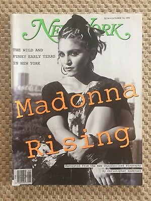 Madonna New York Magazine 14 October 1991 'Madonna Rising' Kate Simons