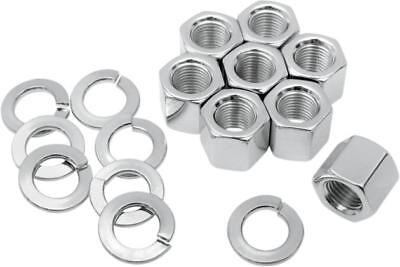 Colony Cylinder Base Nut Kit Chrome #8104-16 Harley Davidson