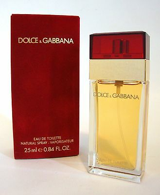 8c0de4a6f45d Dolce & Gabbana Red Box Women Perfume Edt .84 Oz Spray 25Ml Original  Formula Nib