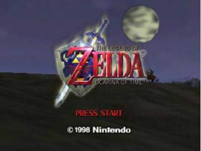 The Legend Of Zelda Ocarina Of Time - Authentic Original Nintendo 64 Game
