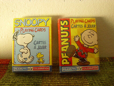 Snoopy and Peanuts 50th Anniversary Playing Cards