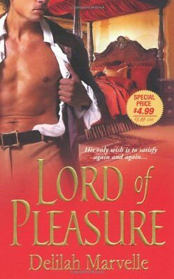 Lord of Pleasure by Delilah Marvelle Paperback Book The Cheap Fast Free Post