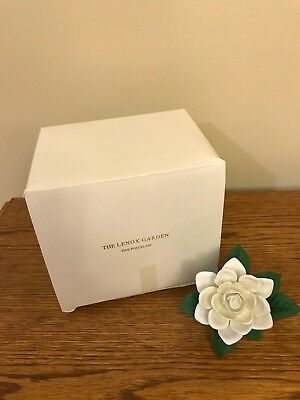 Boxed Lenox Fine Porcelain Garden Flower Collection The Gardenia