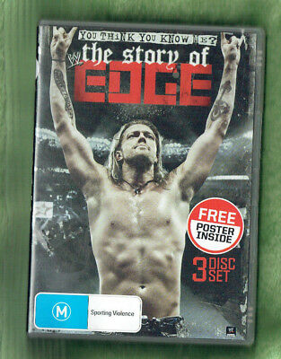 #dd. Wrestling Triple Dvd - The Story Of Edge