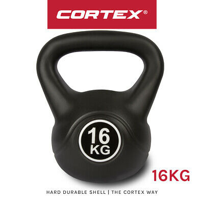 16kg Standard Kettlebell Weight Home Gym Fitness Exercise Weights