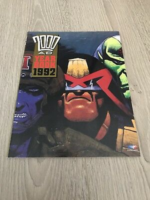 2000 AD YEARBOOK 1992 Illustrated Paperback Publisher Fleetway